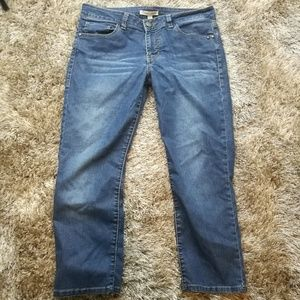 CABI Cropped Jeans Size 6